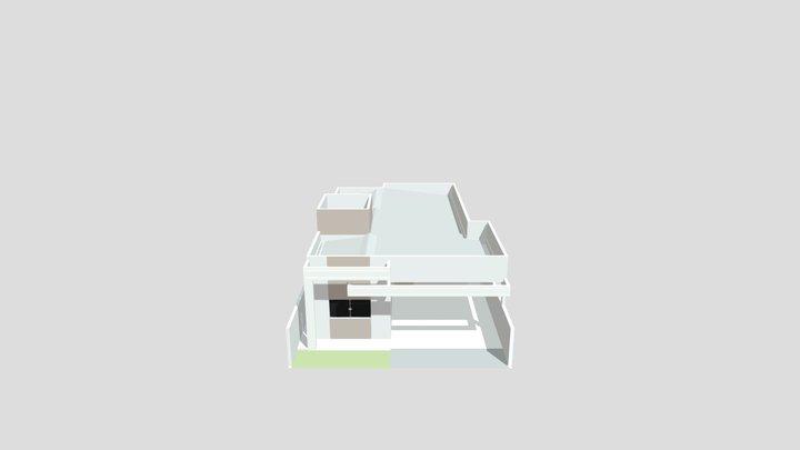 Residência unifamiliar 3D Model