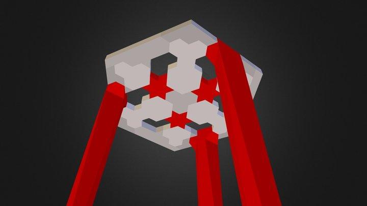 Stool FH 5 © 2014 by Frederik Hanssens 3D Model