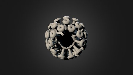 Virus 3D Model