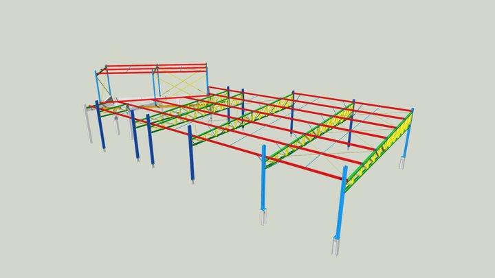 PCM013 - Sicoob Credipatos 3D Model