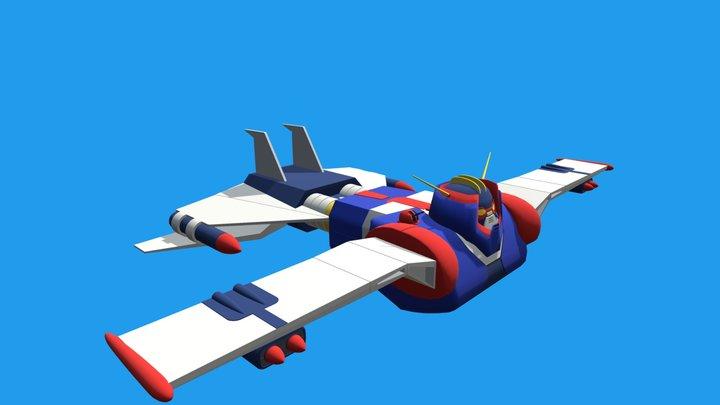 Pirata do Espaço - Groizer X 3D Model