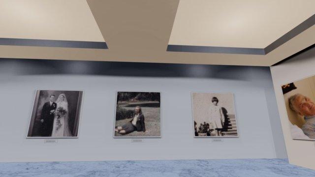 Celebrating Mom's life (1918-2015) 3D Model