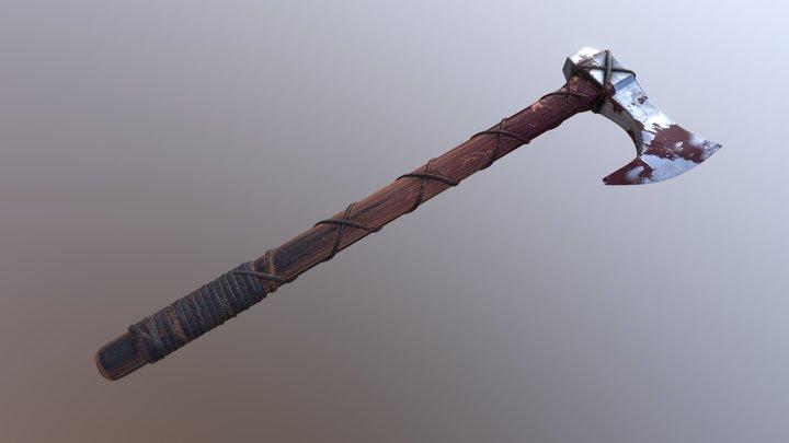 Viking Axe 3D Model