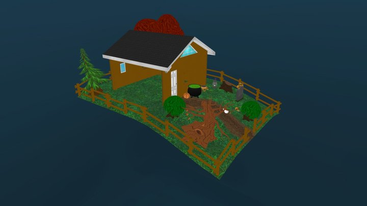 Albert_Mark_Aaron_Just Outside 3D Model