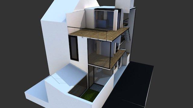 VIANNEY HOUSE 2 3D Model