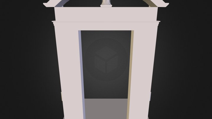QAG Door 3D Model
