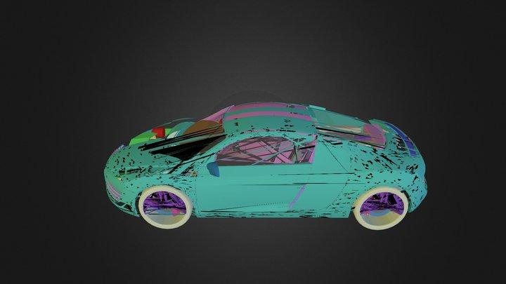 Car Audi R8 2006 N250211 3D Model