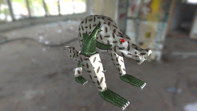 Metal Croc 3D Model