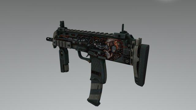 MP7 | Eighty-Four 3D Model