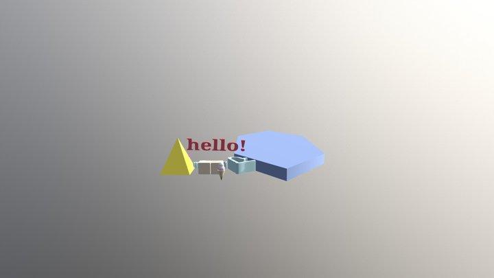 Black rocket test 3D Model