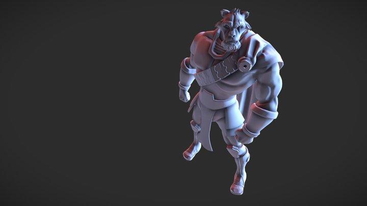 Z Sculpt - Sim'Ba 3D Model