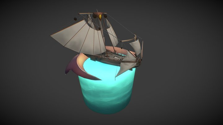 Nexo montado - Puerto de Istal 3D Model