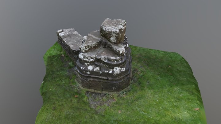 Tintern Column 3D Model
