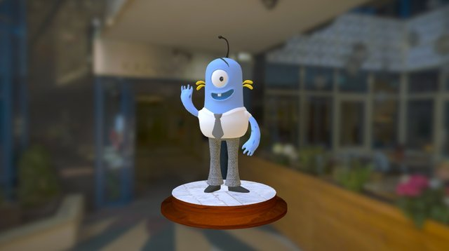Micomco team mascot 3D Model