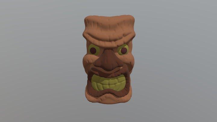 CRAZY TIKI 3D Model