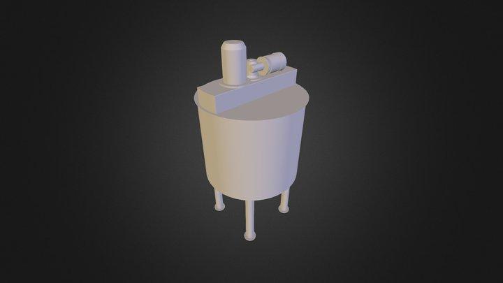 Ice Production 500L 3D Model
