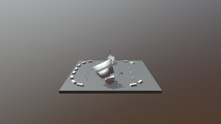 SHIP Last Layout 3D Model