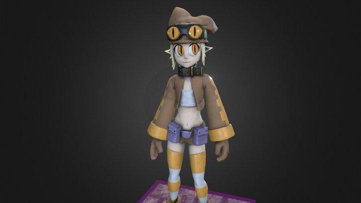 Disgaea Thief - Retrogasm 2019 3D Model