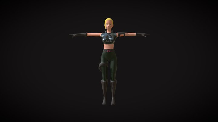 Player Character 3D Model