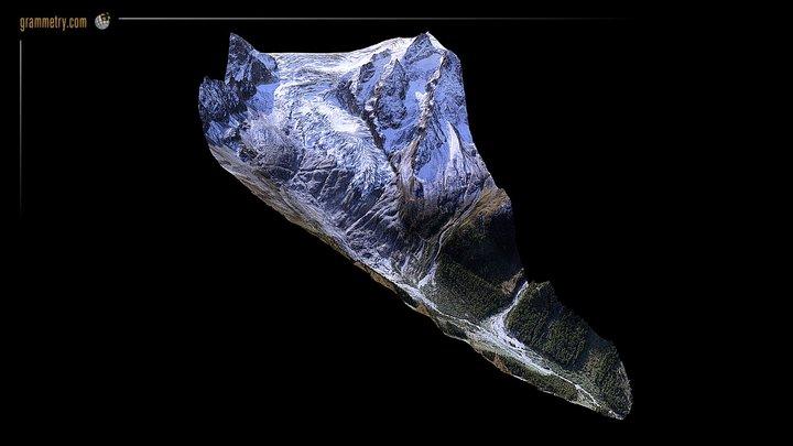 GLACIER DU TRIENT - TRIENT (VS) 3D Model