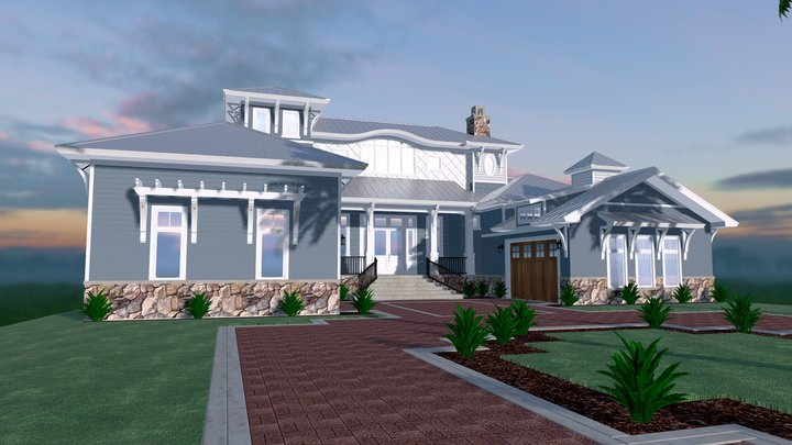 843 West Endover Street 3D Model