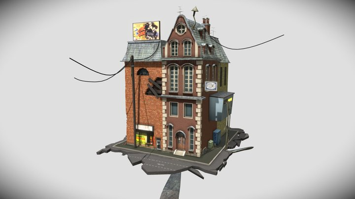 XYZ School Homework 8 - Draft texturing 3D Model