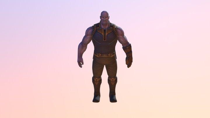 Thanos(Avengers: Infinity War) 3D Model