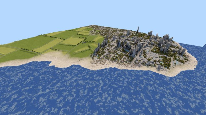 Procedural Planet And Terrain Generator 3D Model