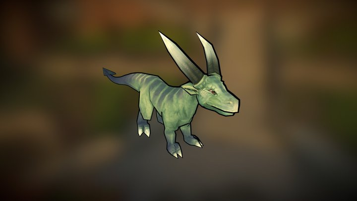 Dragon - Toon Shader Test 3D Model