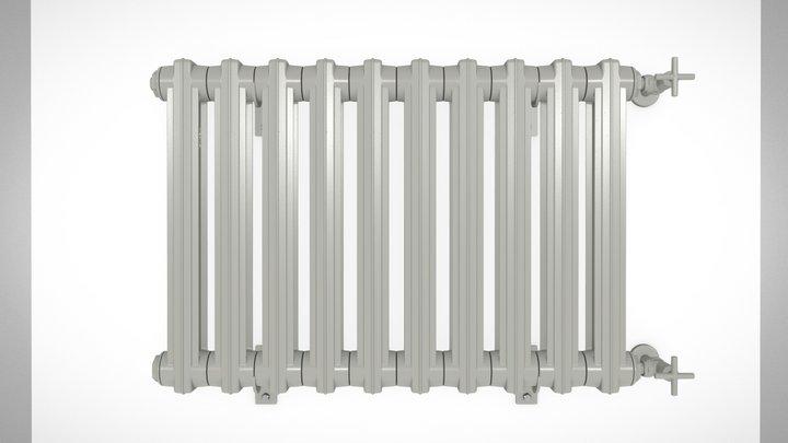 BART cast-iron radiator 3D Model