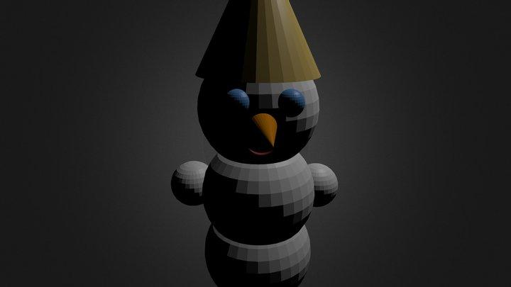 Снеговик 3D Model