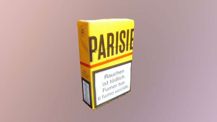 Parisienne - 2nd model 3D Model