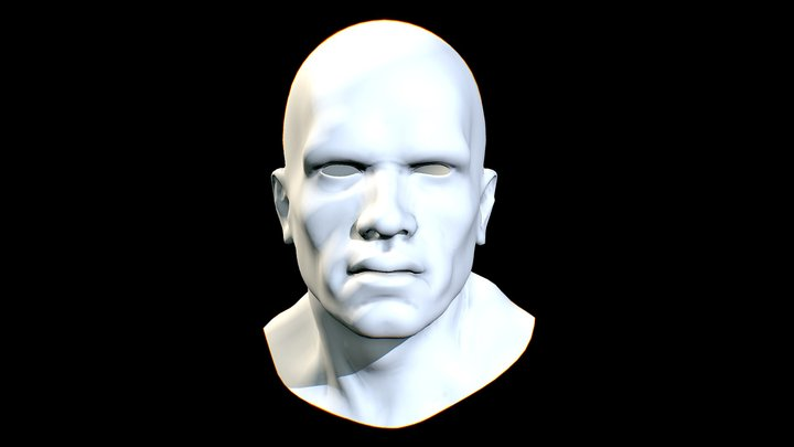 ARNOLD SCHWARZENEGGER_HEAD 3D Model