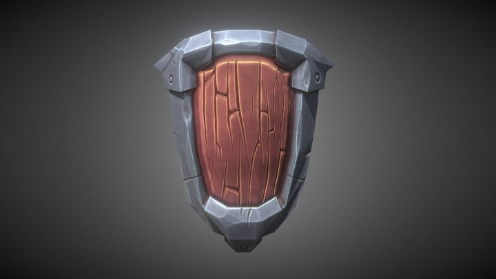 Footsoldier's Shield 3D Model