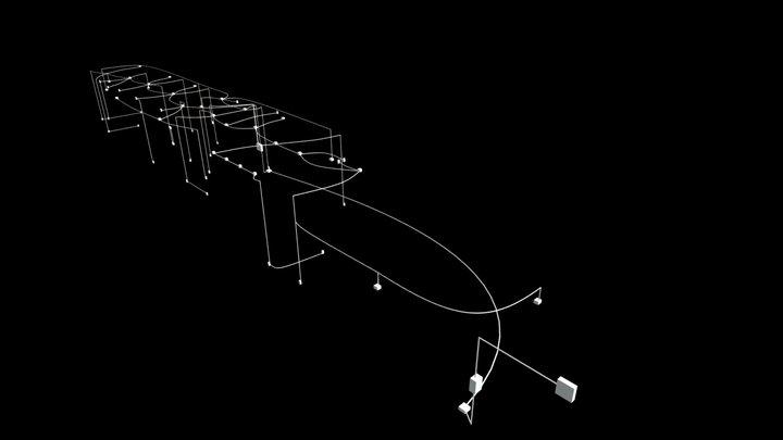 Projeto Elétrico - Edificação Lau 3D Model
