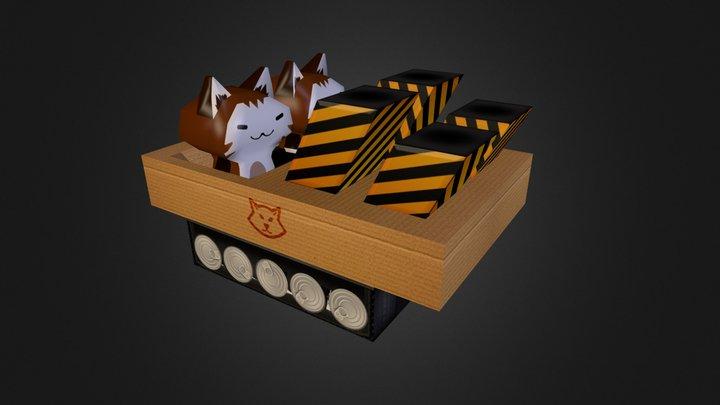 Long Range Cat 3D Model
