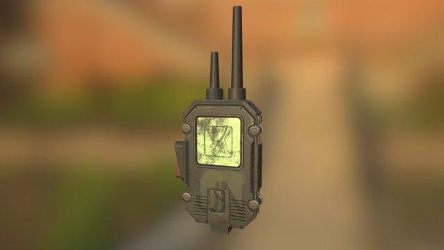 HiWiSci-Fi Radio Extreme 3D Model