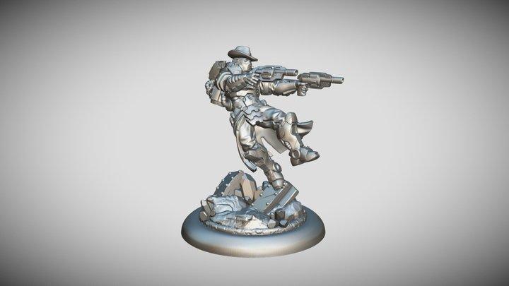Star Scrappers: Terron Gunslinger 3D Model