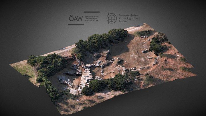 Ephesos   Ancient Grey Marble Quarry 3D Model