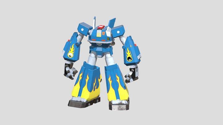 XLR_MEGAS_LP 3D Model