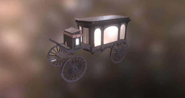 Hearse_2500 3D Model