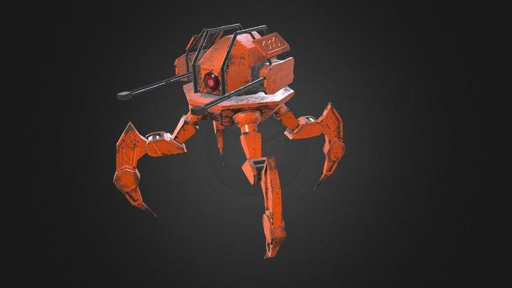 Quadruped 3D Model