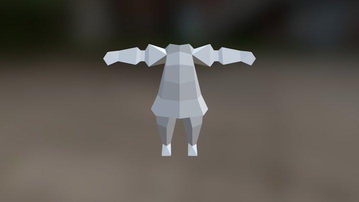 Chibi Thief WIP 3D Model