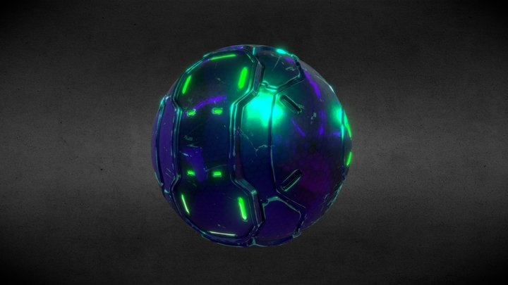 Covenat plasma grenade - Halo 3D Model