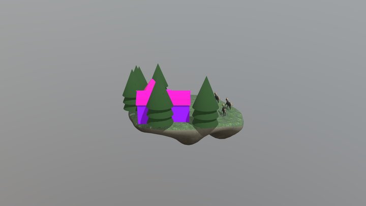 Stable island 3D Model