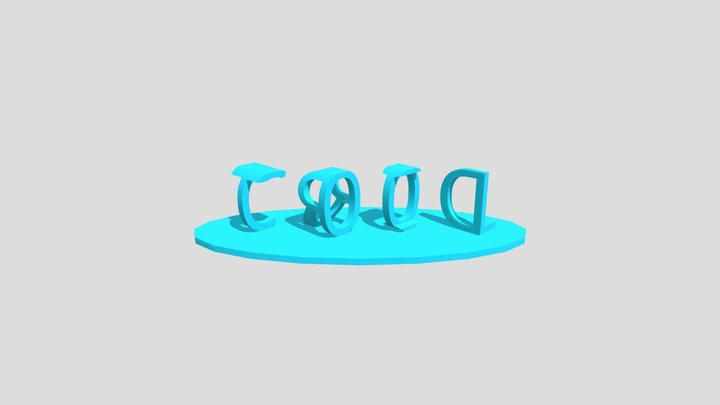 Dual Word Ilusion 3D Model
