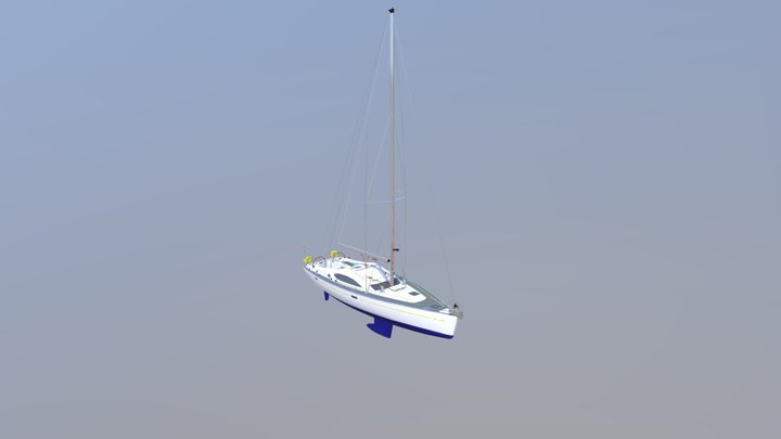 Parts of a Sailing Yacht continued 3D Model