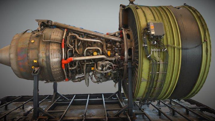 GE90-115B 3D Model