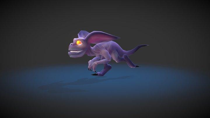 Characters: Gremlin Rat 3D Model