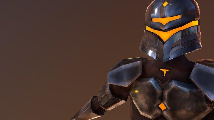 Robot Knight Boss Boi - Luca Naselli 3D Model